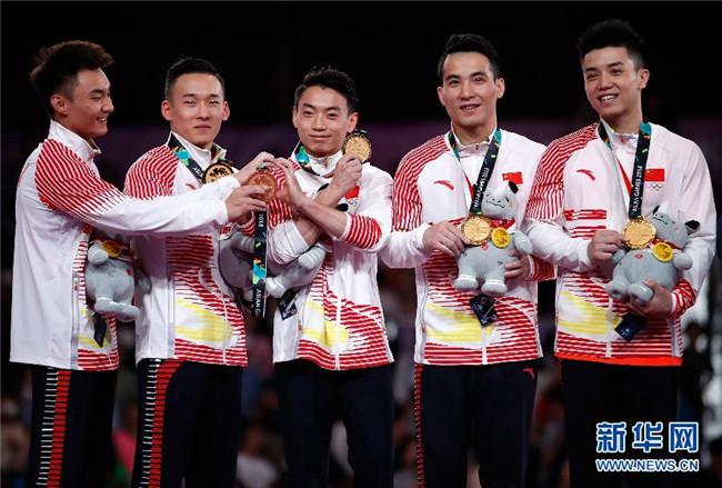 """8金5银5铜 中国体操打了场漂亮""""翻身仗"""""""