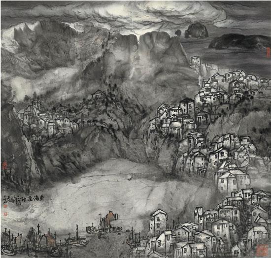 陆秀竞 东海渔村