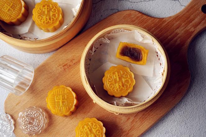 南瓜蒸月饼的做法