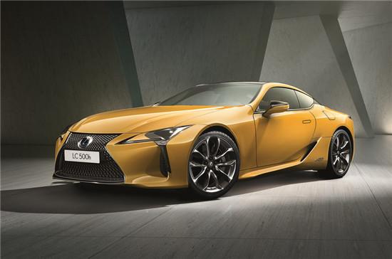 雷克萨斯公布LC限量版预告图 将在巴黎车展首发