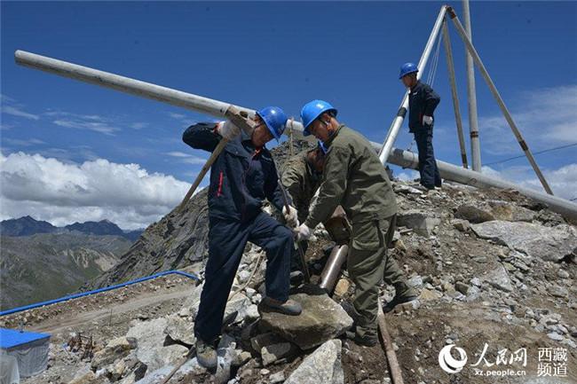 西藏第一批边防通大网电任务基本完成