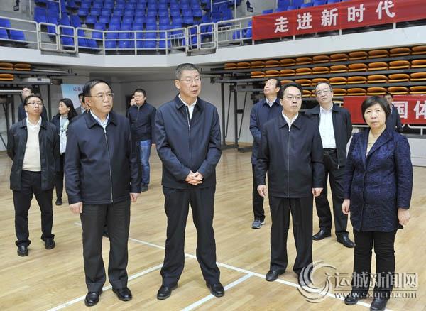 山西省副省长张复明在运城调研旅游基础