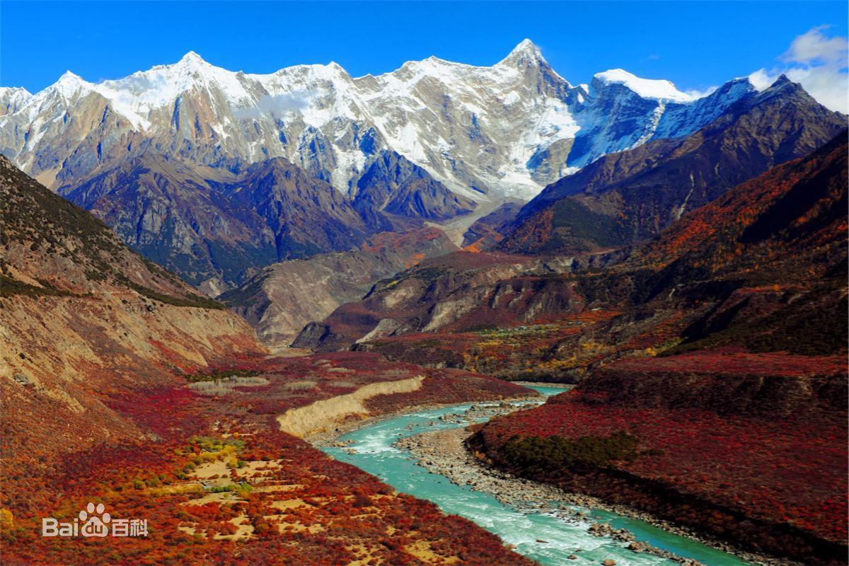 <b>雅鲁藏布大峡谷</b>