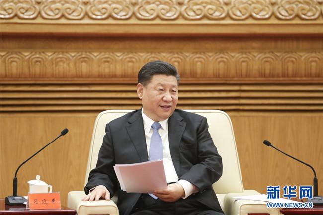 习近平会见香港澳门各界庆祝国家改革
