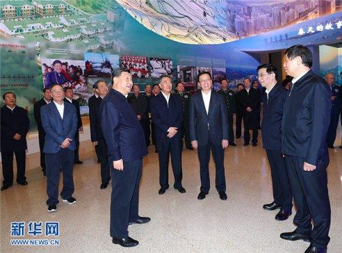 习近平参观庆祝改革开放40周年大型展