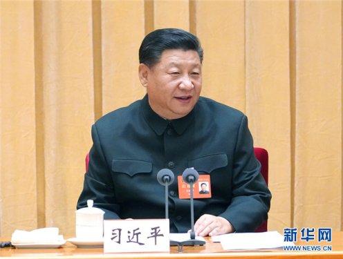 习近平:建立健全中国特色社会主义军