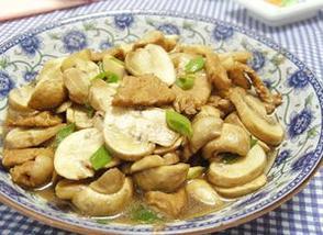 营养丰富 美味的干菇炒肉片只需简单5步