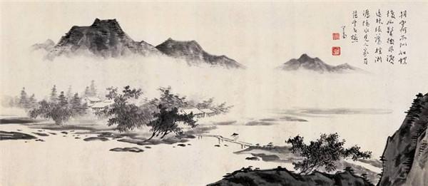 傅心畲中国画部分作品网上展厅
