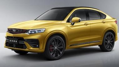 吉利星越于3月25日发布 紧凑型轿跑SUV