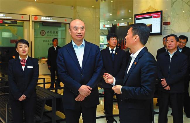 刘国中:做强主业 防范风险 促进金融业高质量发展