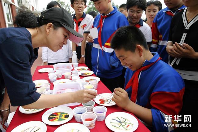 <strong>北京:传统文化走进中学校园</strong>