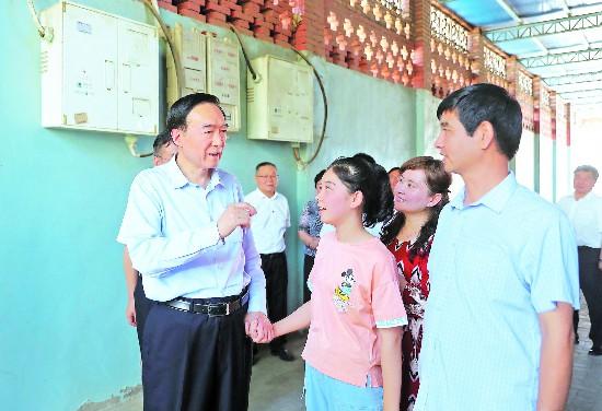 陈全国:努力开创贯彻落实党中央治疆方略的新局面