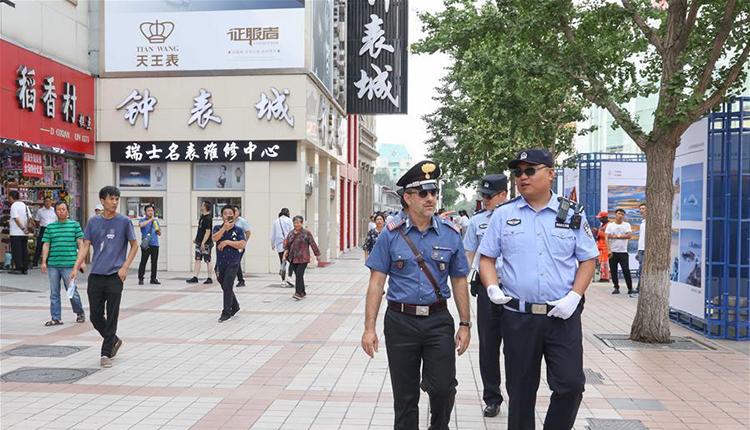 中意警方启动第三次在华警务联合巡逻