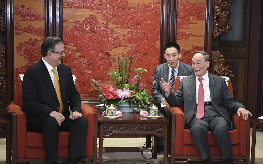 王岐山:加强务实合作 推动中墨两国关系全面发展