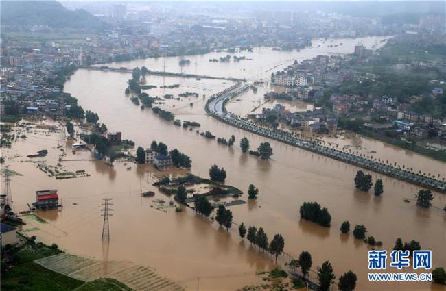 超警!灾情紧急!南方地区全力抗击洪涝灾害