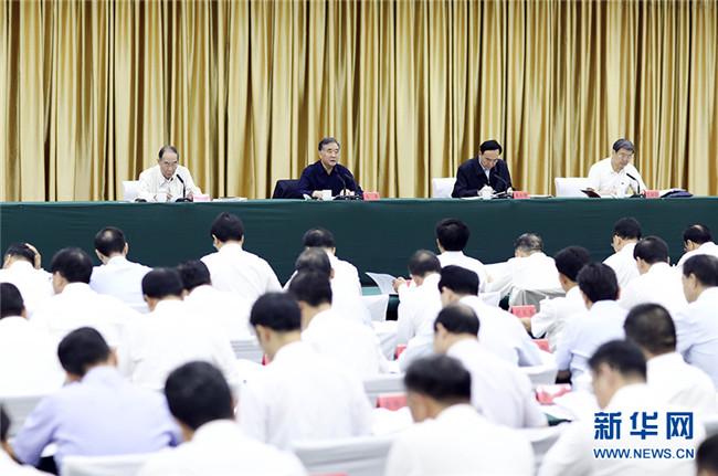 汪洋出席第七次全国对口支援新疆工作会议并讲话