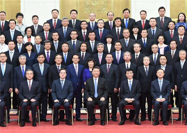 习近平会见2019年度驻外使节工作会议