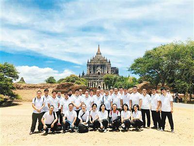 陕西文保专家修复缅甸蒲甘最高的佛塔