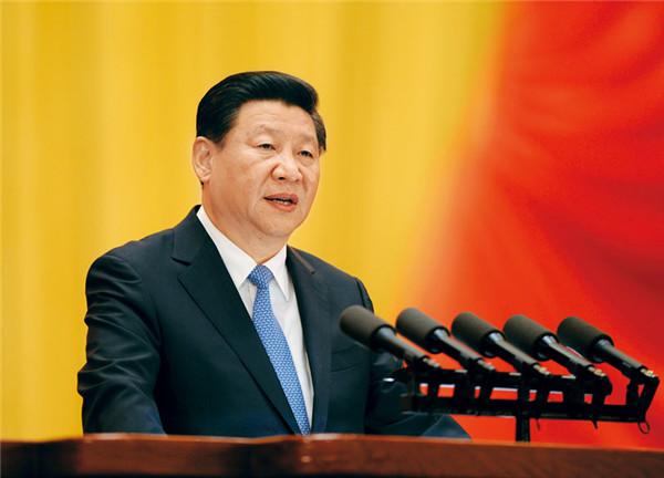 习近平:在庆祝全国人民代表大会成立六