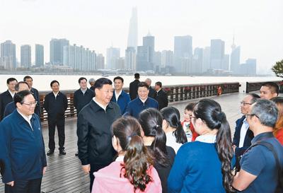 习近平:提高社会主义现代化国际大都市