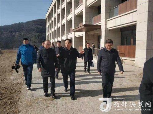 陕西省委组织部王秉琦调研马栏干部学院建设工作