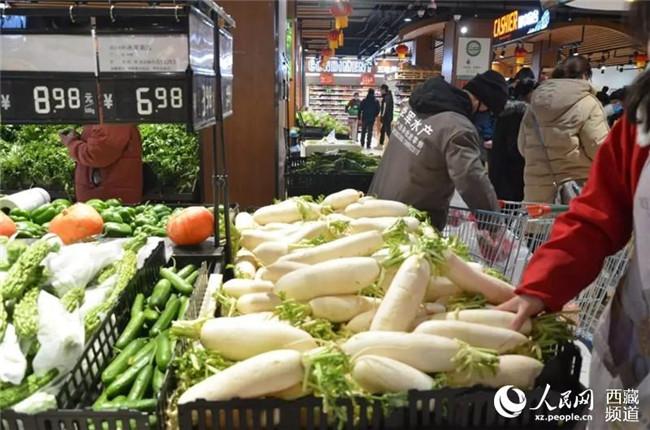 日喀则市场供应充足,价格平稳