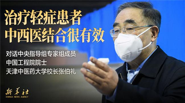 张伯礼:不鼓励人人吃药来预防