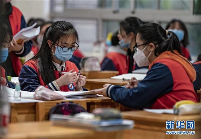 云南省中学毕业班有序复课