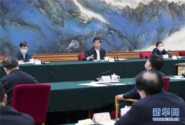 栗战书出席强化公共卫生法治保障立法修法座谈会