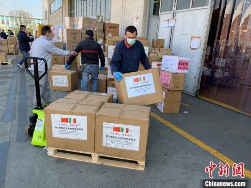 海外华侨华人:中国援助的到达令人安心与自豪