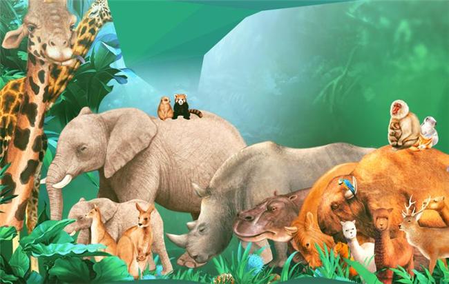 """向非法野生动物交易滥食野生动物陋习说""""不"""""""