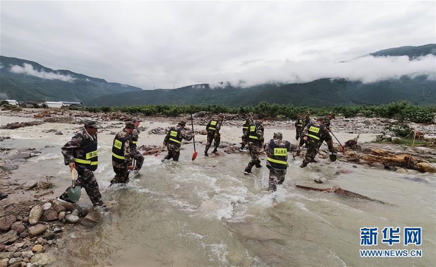 """(社会)(2)四川冕宁""""6・26""""特大暴雨灾害已致12人遇难10人失联"""