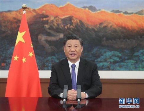 习近平在亚投行第五届理事会年会视频
