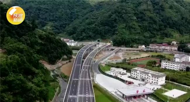 陕西这条高速公路开通在即!宛如大秦岭中的飘逸丝带