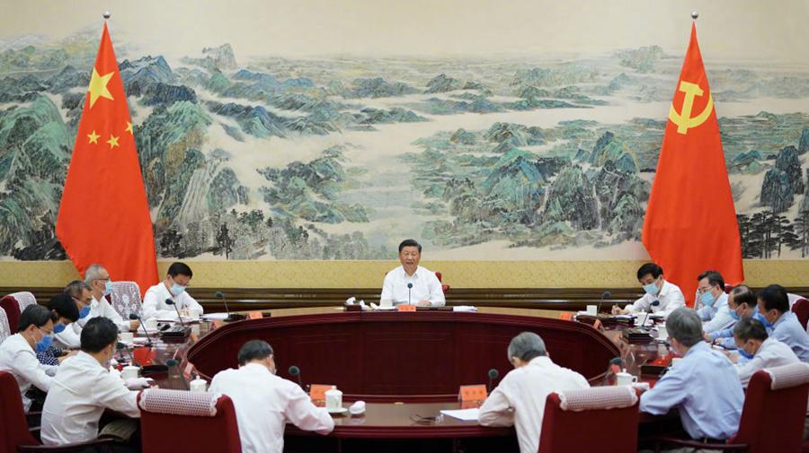 总书记同专家座谈了事关中国未来的重大问题