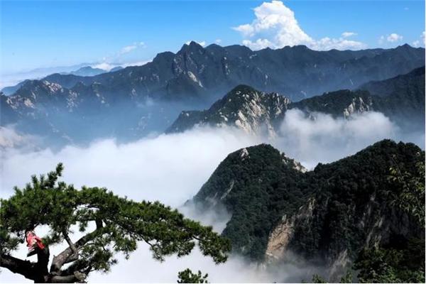 华山印象 一场流浪的旅行