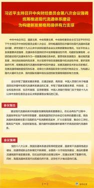 习近平主持召开中央财经委员会第八次会议