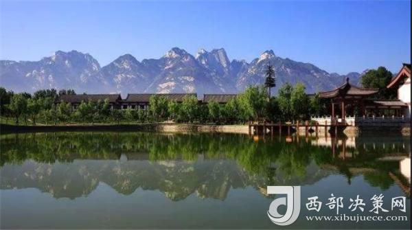 华山不仅山美,山下的景色也毫不逊色