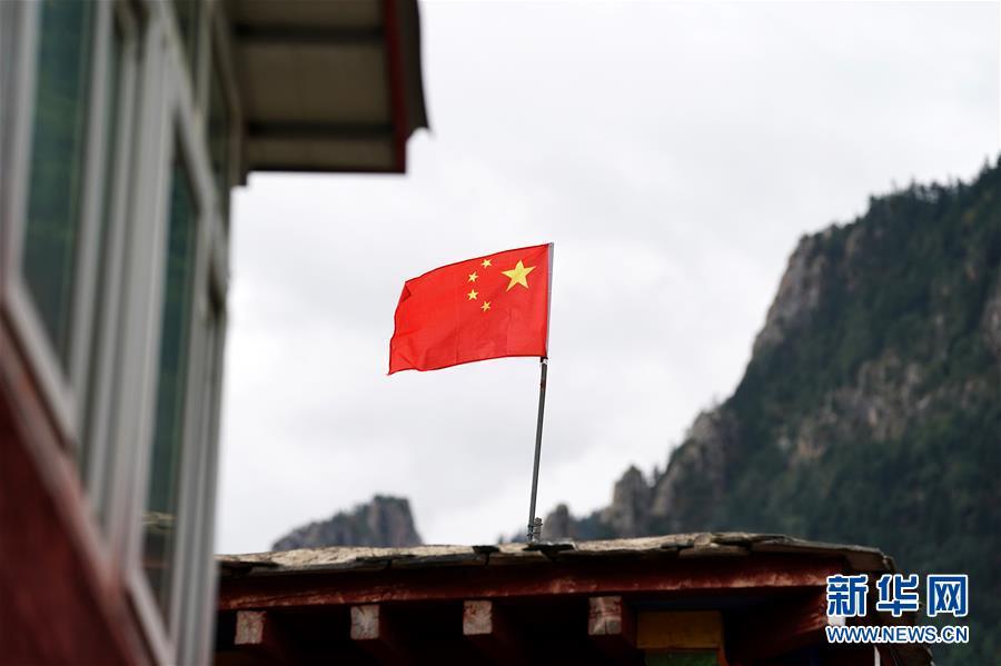 (西藏昌都解放70周年・图文互动)(6)西藏第一面五星红旗曾在这里升起