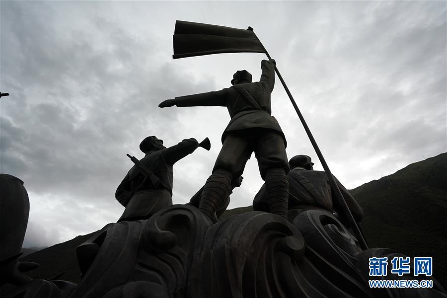 (西藏昌都解放70周年・图文互动)(3)西藏第一面五星红旗曾在这里升起