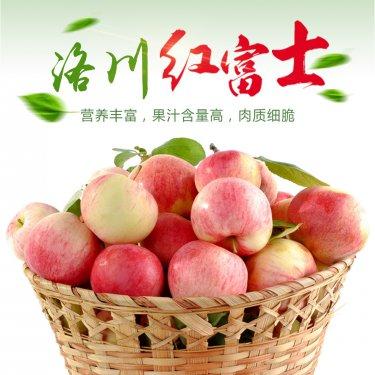 陕西省洛川县小苹果做成大产业