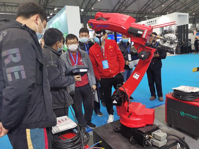 第三届中国(宝鸡)国际机器人暨智能制造展览会开幕