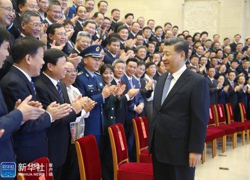 习近平会见全国精神文明建设表彰大会