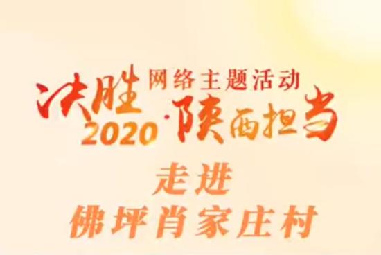 """""""决胜2020・陕西担当""""网络主题活动――走进佛坪肖家庄村"""