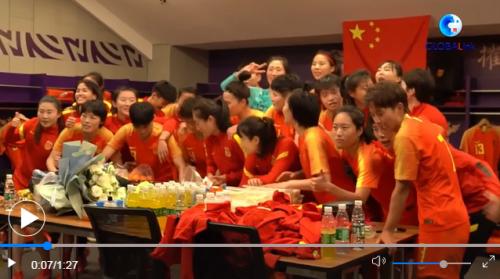 """东京,""""玫瑰""""来了!――中国女足征"""
