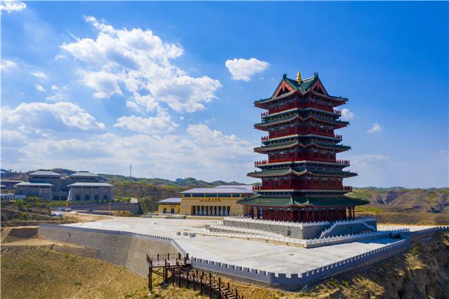 陕西佳县东方红产业园盛大开园全力打造红色文化旅游龙