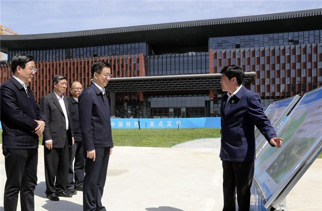 韩正在河北雄安新区调研并主持召开京津冀协同发展领导