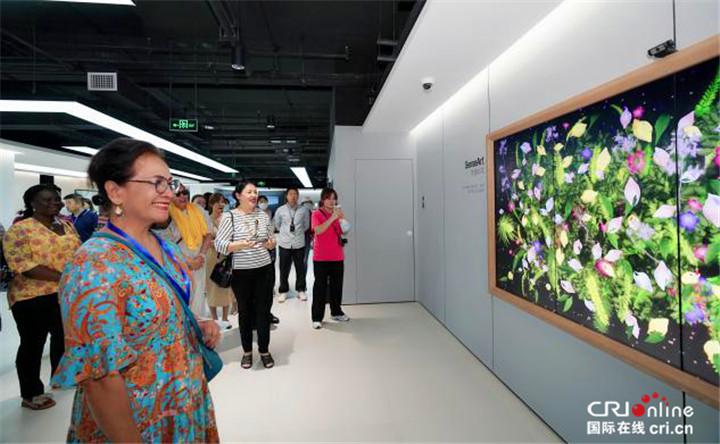 【Hi 西安】驻华大使夫人走进西部云谷 人工智能技术令人惊叹_fororder_图片33