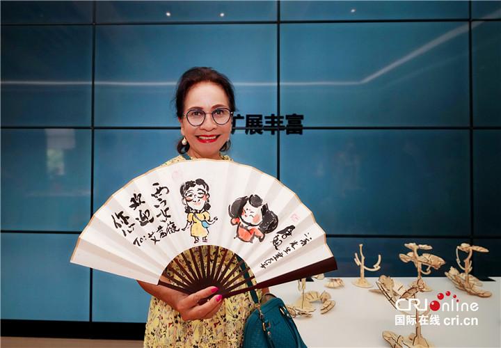 【Hi 西安】在碑林看未来 驻华大使夫人希冀中埃两国可以有更多科技合作_fororder_图片54