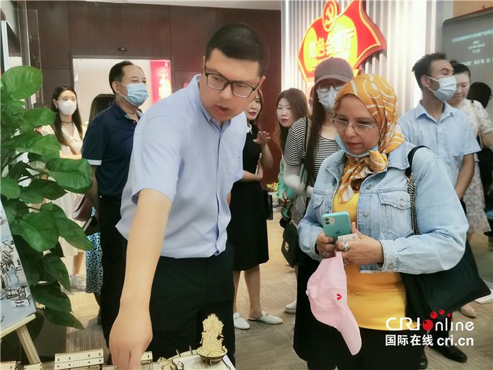 【Hi 西安】在碑林看未来 驻华大使夫人希冀中埃两国可以有更多科技合作_fororder_图片55